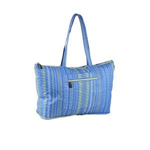 neu_Foldable Shopping Bag - Royal-White-Lemon