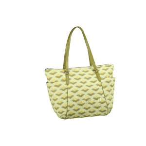 neu_Boat Wave Carryall - Green_Olive_Yellow