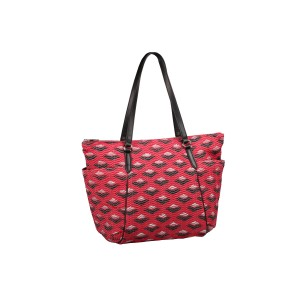 neu_Boat Wave Carryall - Red_Silver_Black