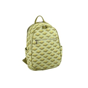 neu_Boat Wave Ladies Backpack - Green_Olive_Yellow