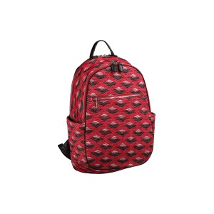 neu_Boat Wave Ladies Backpack - Red_Black_Silver