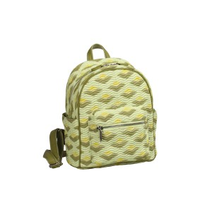 neu_Boat Wave Mini Backpack - Green_Olive_Yellow