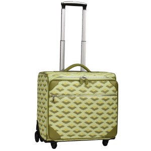 neu_Boat Wave Roller Luggage - Green_Olive_Yellow