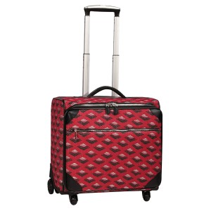 neu_Boat Wave Roller Luggage - Red_Black_Silver