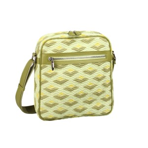 neu_Boat Wave Tablet Bag - Green_Olive_Yellow