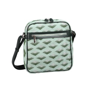 neu_Boat Wave Tablet Bag - Light Green_Dark Green_Silver