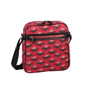 neu_Boat Wave Tablet Bag - Red_Black_Silver