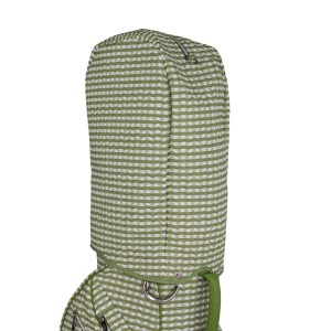 neu_Check Wave 14 Way Cart Bag - Rain Hood Shot