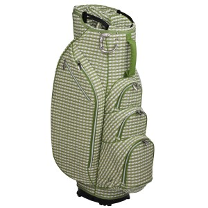 neu_Check Wave 14 Way Cart Bag - White-Olive-Light Olive