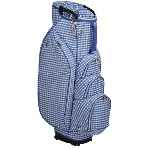 neu_Check Wave 14 Way Cart Bag - White-Violet-Light Violet
