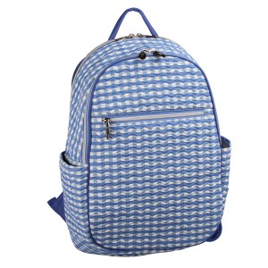 neu_Check Wave Ladies Backpack - White_Violet_Light Violet