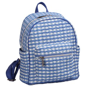 neu_Check Wave Mini Backpack - White_Violet_Light Violet