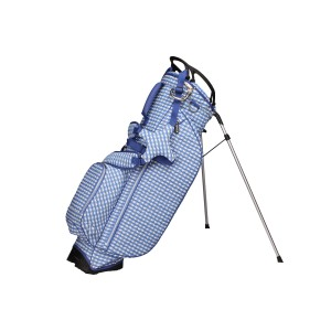neu_Check Wave Stand Bag - White-Violet-Light Violet