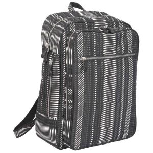 neu_Python Backpack - Black-Gray-White