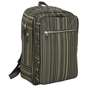 neu_Python Backpack - Black-Olive-Yellow