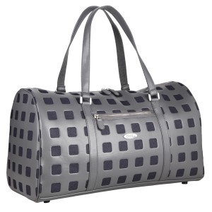 neu_Sterling Boston Bag - Dark Gray