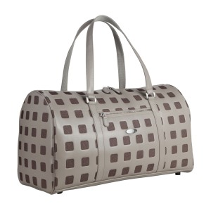 neu_Sterling Boston Bag - Light Gray