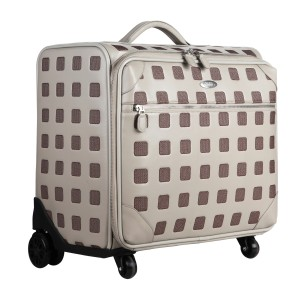 neu_Sterling Roller Luggage - Light Gray